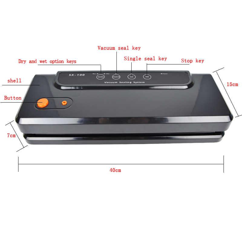 ATWFS متعددة الوظائف فراغ آلة الختم المنزل أفضل فراغ السدادة الطازجة ماكينة تغليف الغذاء التوقف فراغ باكر أكياس 150 واط