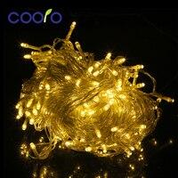 LED String Ánh Sáng 30 M 200LED Sạn Holiday Chuỗi Chiếu Sáng Giáng Sinh Đèn Đảng Ngoài Trời Trang Trí Không Thấm Nước Cắm