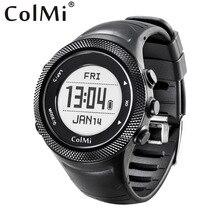 ColMi Smartwatch Pilot GPS 5ATM IP68 Wasserdichte Druck Temperatur Höhe Kompass Radfahren Modus Mann Smart Uhr