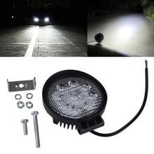 "7"" led replacement headlight 4inch Round 27W LED headlight 27w led headlamp auto lights US $10.99 / pc"