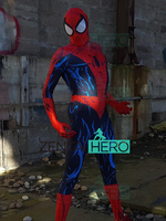 Free Shipping 3D Printing Todd McFarlan Spiderman Costume Custom Spider Man Lycra Cosplay Superhero Costume Zentai Spidey Suit