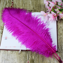 10 PCS beautiful mei red ostrich feather 50 to 55 cm / 20 to 22 inches feathers