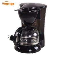 VOGVIGO 220V 5 Cups Drip Coffee Maker Italian Fully Automatic Multifunction Coffee Machine Household High Quality Coffee Maker
