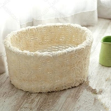 newborn photography props basket three-dimensional flower oval  neonatal hundred days