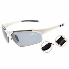 TH6186PGSG Eyekepper TR90 Unbreakable Sports Polycarbonate Polarized Half-Rimless Bifocal Sunglasses