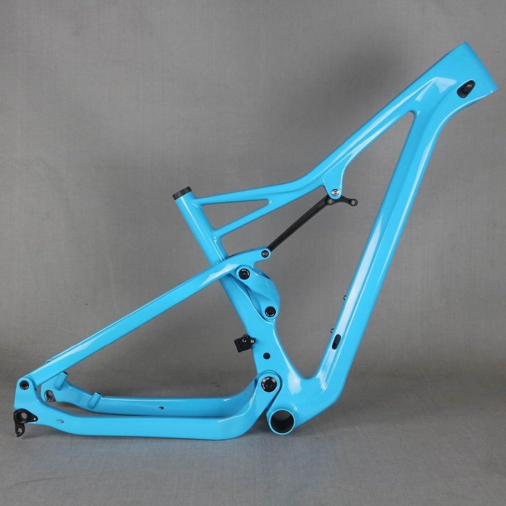 Frete grátis Impulso impulso e 29er quadro de suspensão 27.5er MTB de carbono quadro de bicicleta XC 29er quadro de suspensão de impulso