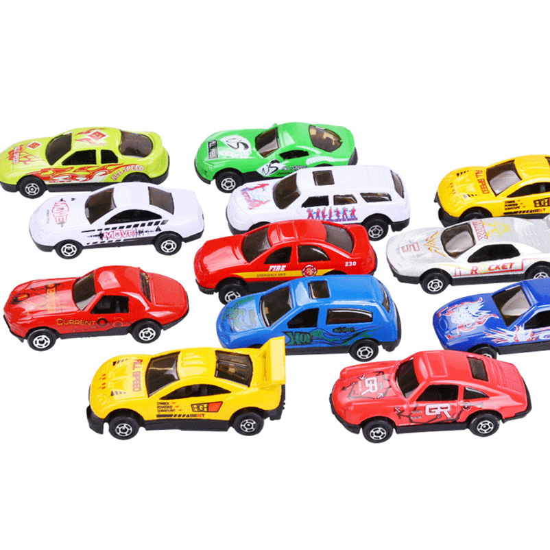 Classic Toy Cars Boys Pull Back Car Children's Simulation Mini Alloy Casting Metal Model Car Toys Gift For Children