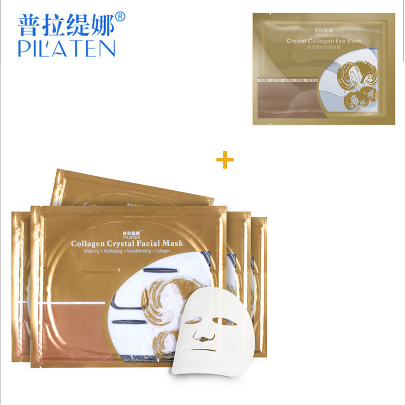 PILATEN Crystal Collagen Face Mask + Eye Mask Dark Circles Fs