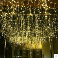 Christmas Decoration Garland LED Christmas Light Outdoor Decoration LED Curtain String Light Holiday Wedding Luzes de Natal