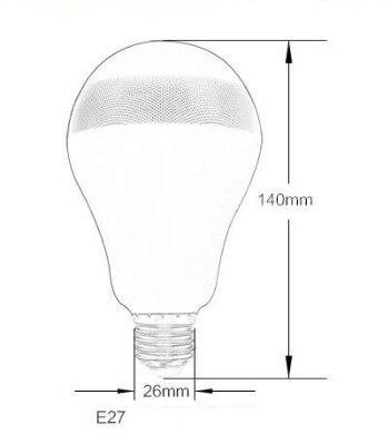 Simsiz Musiqi Parlaq rəngli İşıqlar Ağıllı Rəngarəng LED - Daxili işıqlandırma - Fotoqrafiya 3