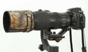 Image 3 - ROLANPRO pare soleil téléobjectif rabattable sur mesure pour Nikon AF S 200 500mm f/5.6E ED VR uniquement pour Nikon 200 500 f5.6