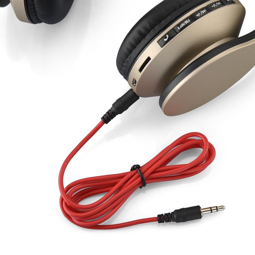 JA HOPE Drahtlose Kopfhörer Bluetooth Headset Stereo faltbare Sport  Kopfhörer Mikrofon Gaming Schnurlose Auriculares Audifonos in JA-HOPE  Drahtlose ... fede27d227