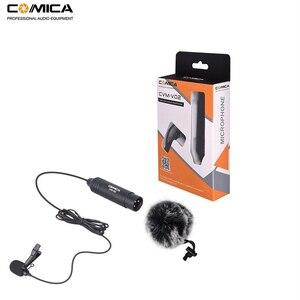 Image 5 - CVM V02O Phantom Power wielokierunkowy mikrofon XLR Lavalier do aparatu Canon Sony Panasonic mikrofon do rejestratorów zoomu
