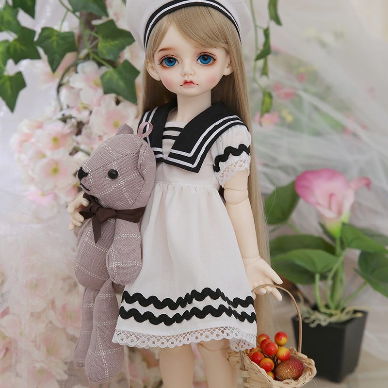 RL Doll RL Holiday Mignon bjd sd doll 1/4 body model boys or girls bjd oueneifs High Quality resin toys free eye beads  shop 2