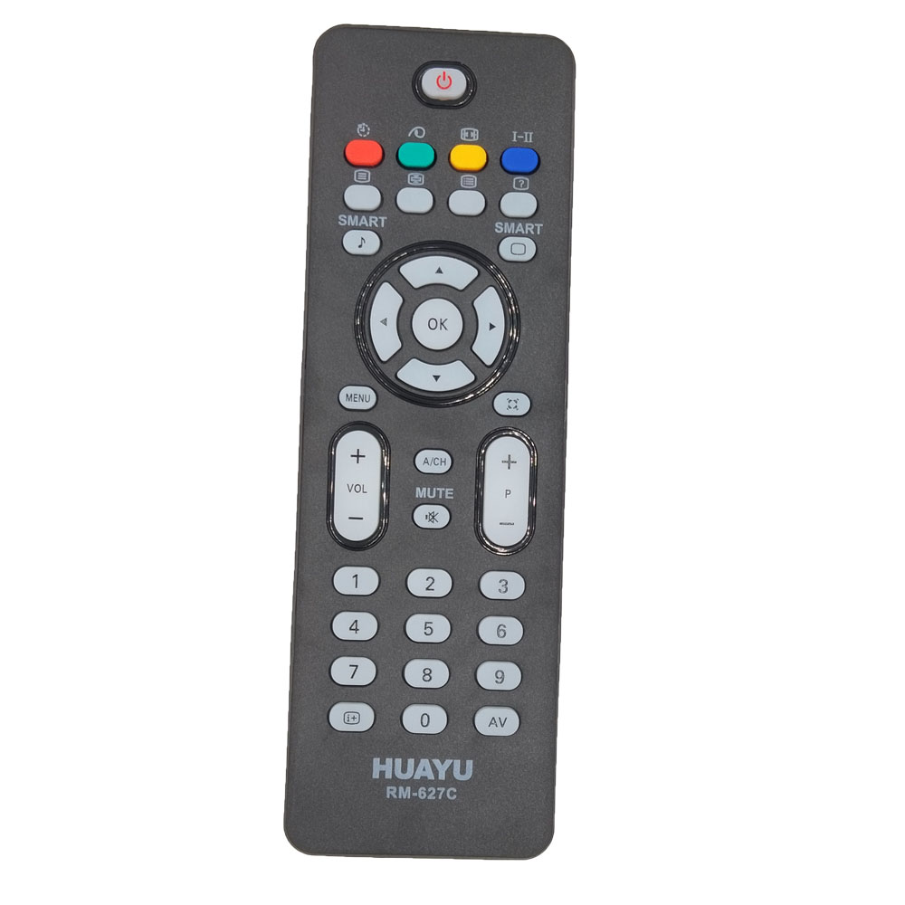 CRP663/01Remote Control For Philips Flat TV with Crystal Cle
