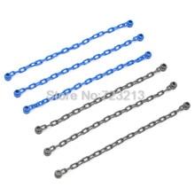 Chain MOC DIY Brick Accessories Parts Grey Blue Bridge font b Building b font Blocks Assemble