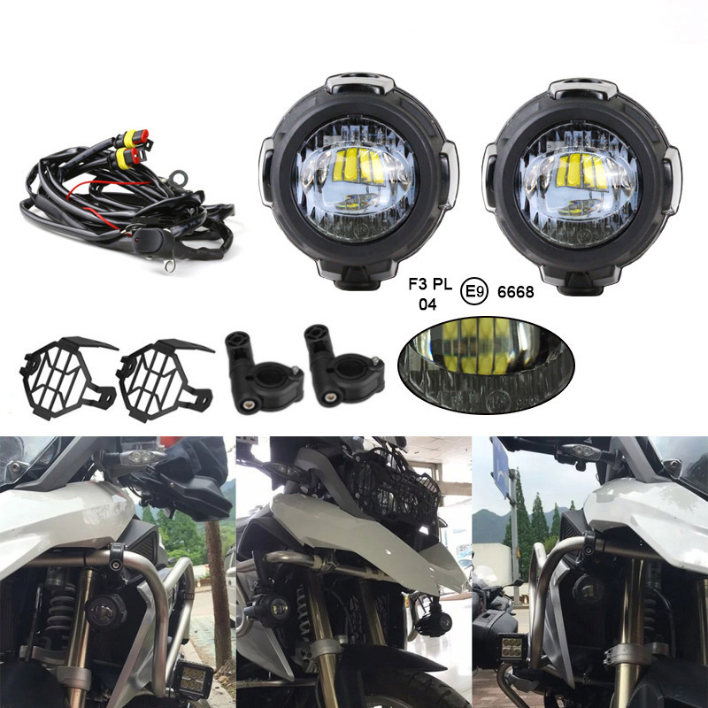 Faduies Led Auxiliary Fog Lights   Protector Cover