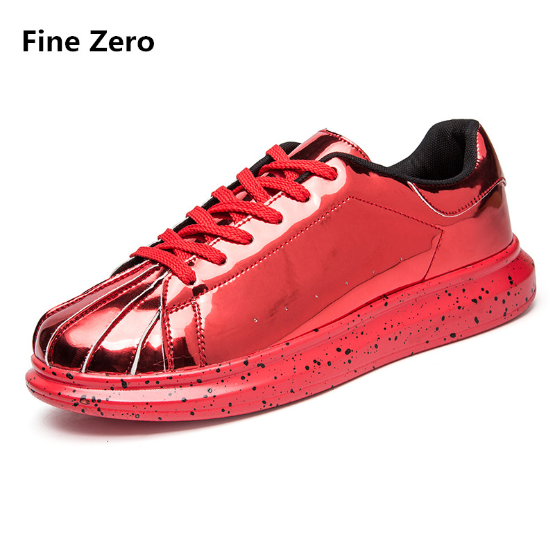 New 2017 Men Casual Shoes Spring Autumn Mens red black silver Breathable Flats Shoes Zapatillas Hombre basket femme enmayer spring autumn white red black spring summer autumn fashion new men s women casual shoes flats shoes free shipping