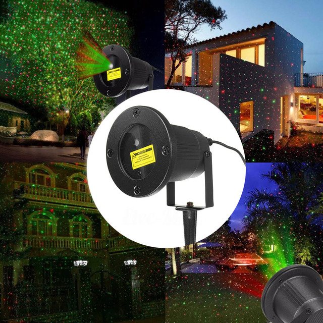 Laser Projektion Licht Im Freien Wasserdichte Weihnachten Garten ...