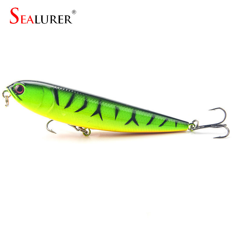 1Pcs 12cm 22g Minnow fishing lure wobbler carp fishing  iscas artificiais para pesca crankbait swimbait fishing tackle WQ279 lushazer fishing lure minnow bait 18g hard lures carp fishing iscas artificiais 2016 wobbler crankbait cheap sea fishing tackle