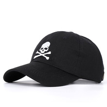 Cool Men Women Skull Print SunShade Baseball Cap Snapback Su
