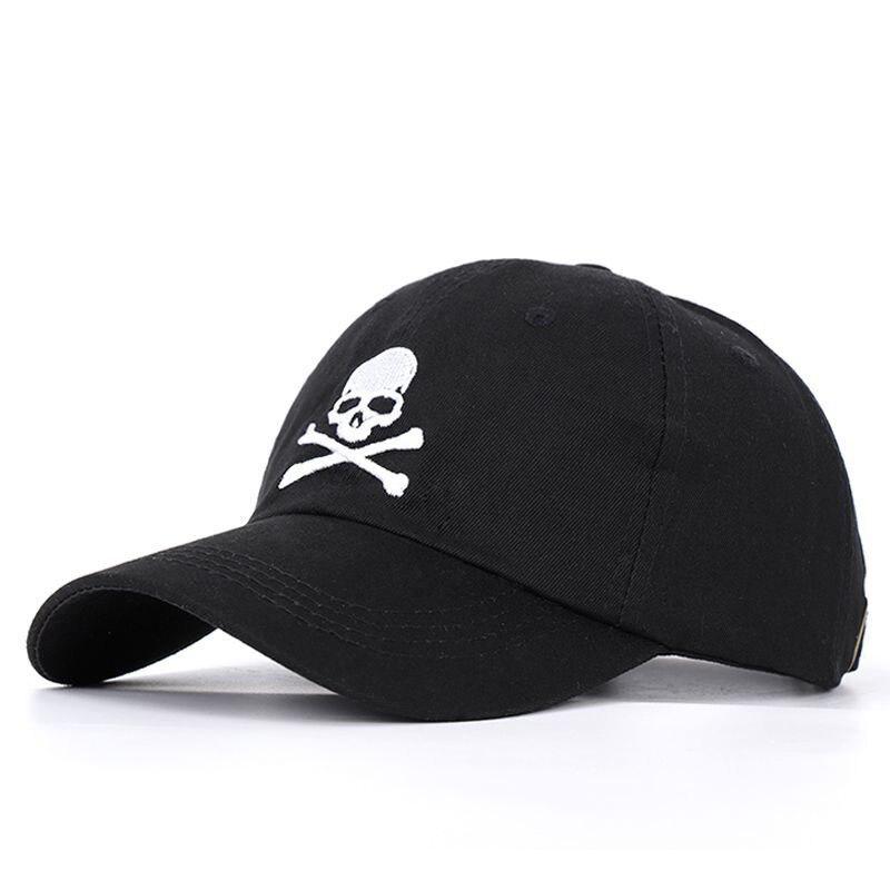 Cool Men Women Skull Print SunShade   Baseball     Cap   Snapback Summer Outdoor Sports Sunscreen Hip Hop Adjustable Cotton Hats P55