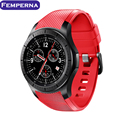 Femperna LF16 Android 5.1 Bluetooth 1.39 polegada de Tela Ultra Fina smart watch phone support nano cartão sim wifi gps mapa pedômetro