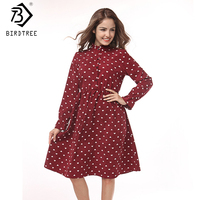 Fall Corduroy Print Loving Heart Women Dresses Shirts Long Sleeves Solid Good Quality Dresses Plus Size