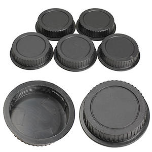 Mayitr 5 pcs Rear Lens Cover For Canon Camera EF ES-S EOS Series Lens