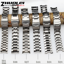 Promotion 22mm New Top Quality  stainless Steel Watchband Strap Folding Clasp Buckle For EF-550 BEM501 EF527 Waterproof bracelet