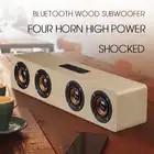 KAPCICE W8 Mini Bluetooth Speaker Portable Wireless Speaker Sound System 3D Stereo Muziek Surround Ondersteuning Bluetooth, TF AUX USB - 4
