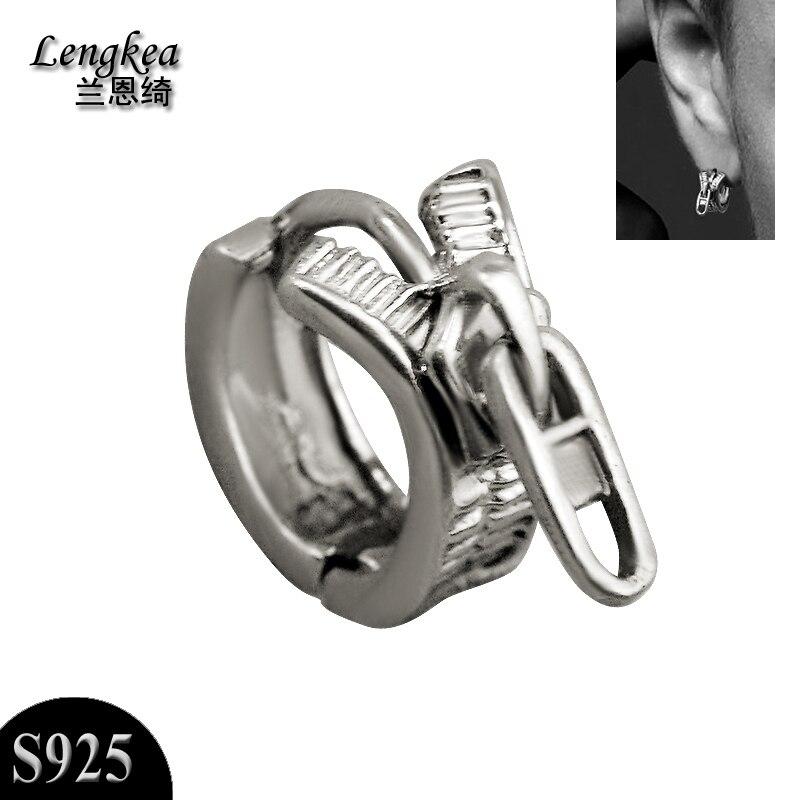 Men earrings 925 silver small piercing earrings mini stud earrings women earrings men jewelry women jewelry charms trinket