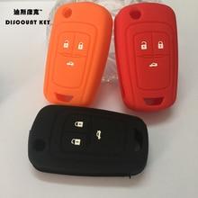 silicone car key case protection covers for Opel Mokka Astra Corsa Antara Meriva Zafira Insignia key case for Opel car styling