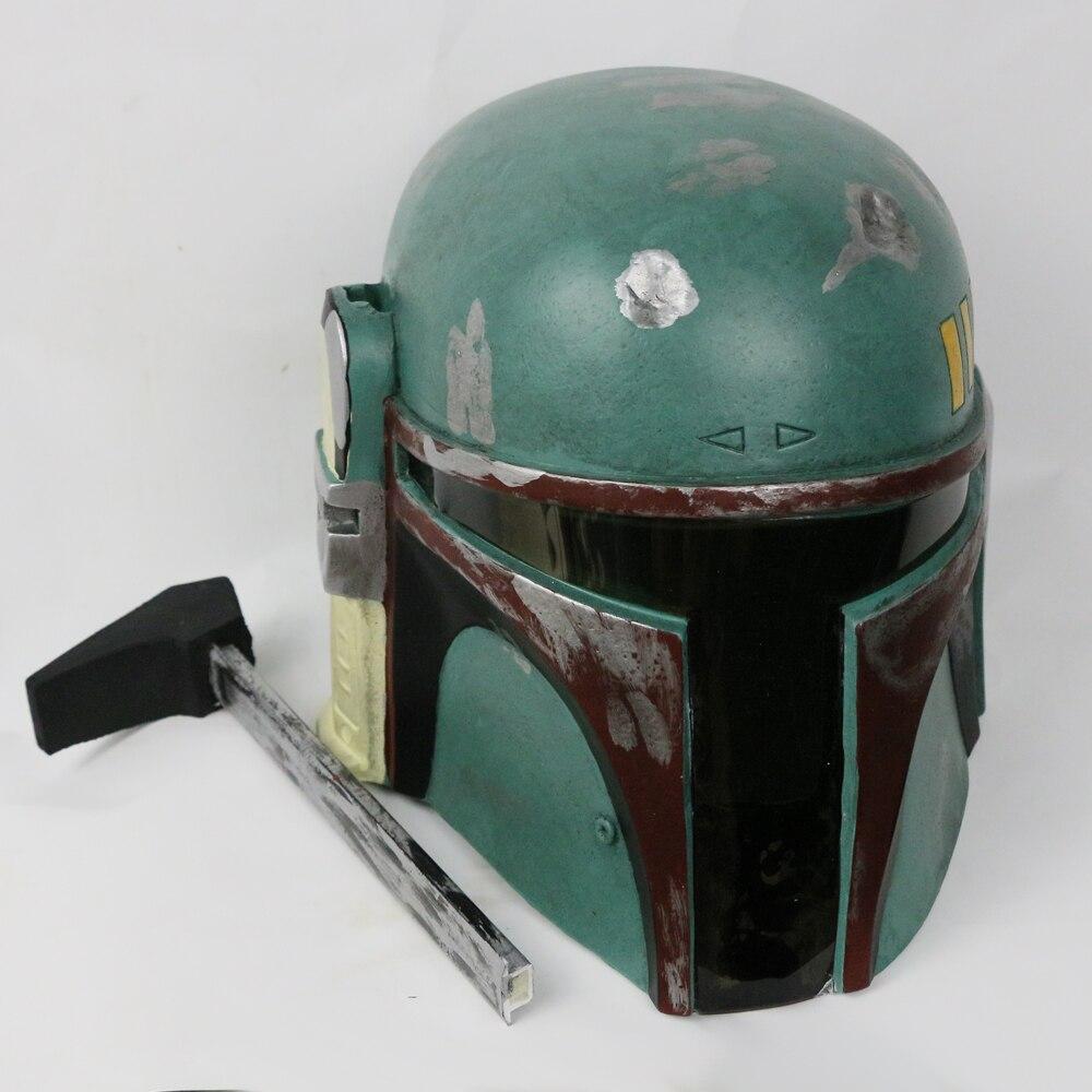 Helmet Star Wars Boba Fett Bounty Hunter Hat Boba Fett Helmet Halloween Helmet Mask (1)