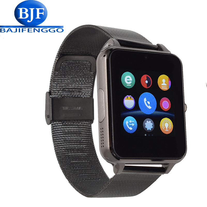 E6 smart watch for font b android b font phone sport reloj inteligente Support TF SIM