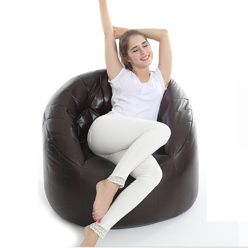 online shop 1 piece 757572cm single bedroom balcony lovely bean bag computer chairs comfortable and stylish sofa cover without filling aliexpress mobile bedroomlovely comfortable computer chair