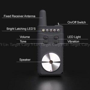 Image 4 - Черный 4 1 сигнализация для прикуса карпа, беспроводная Цифровая Сигнализация для прикуса, световой сигнал, водонепроницаемый, для ловли карпа