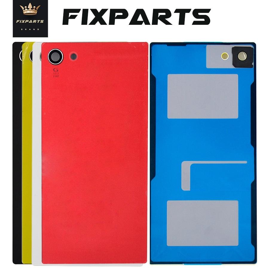 Для SONY Xperia Z5 Compact Задняя крышка батареи E5803 E5823 Корпус задняя дверь чехол Замена для 4,6