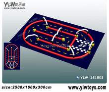 inflatable racing track,inflatable competitive sport toys,air running track,inflatable air tumble track