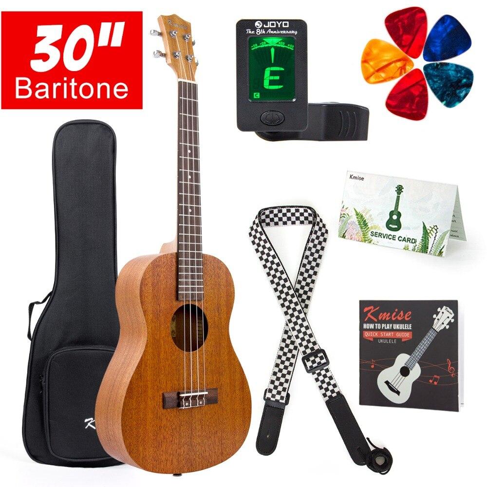 баритон гавайские гитары укулеле 30 дюймов - Kmise Baritone Ukulele 30 Inch Mahogany Ukelele Uke 4 String Hawaii Guitar