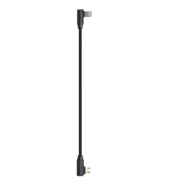 Lightning Charging Cable for Zhiyun Smooth 4 / Feiyu Vimble 2 used with iPhone X 8 8Plus 7 7Plus 6s 6sPlus 6 6 Plus, SE, 5s, 5cLightning Charging Cable for Zhiyun Smooth 4 / Feiyu Vimble 2 used with iPhone X 8 8Plus 7 7Plus 6s 6sPlus 6 6 Plus, SE, 5s, 5c