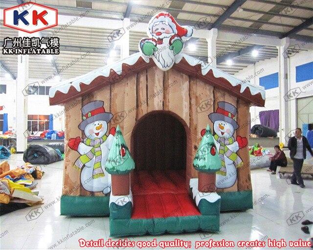 Casetta Di Natale Gonfiabile : Neve gonfiabile casa buttafuori gonfiabile della decorazione di