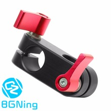 90 Degree Right Angle 15mm Rod Rig Clamp Adapter for 5D2 5D3 A7sGH4 DSLR Camera Photography System Photo Studio Handgrip Monitor