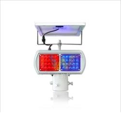 Factory supplier solar powered road safety blinker strobe 4 modules flashing warning light.jpg 250x250