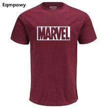 Eqmpowy 2017 New Fashion MARVEL t-Shirt men cotton short sleeves Casual male tshirt marvel t shirts men tops tees Free shipping