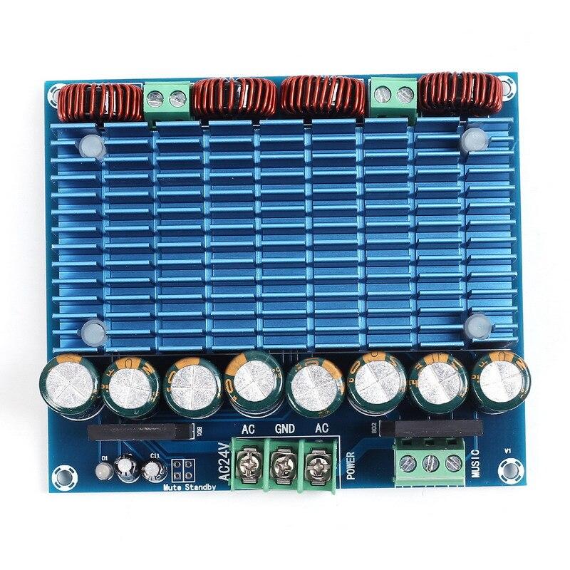 Ultra Haute Puissance Numérique Amplificateur Module AC 24 V Stéréo TDA8954TH Double Puce 2x420 W XH-M252 Numérique Puissance amplificateur Conseil