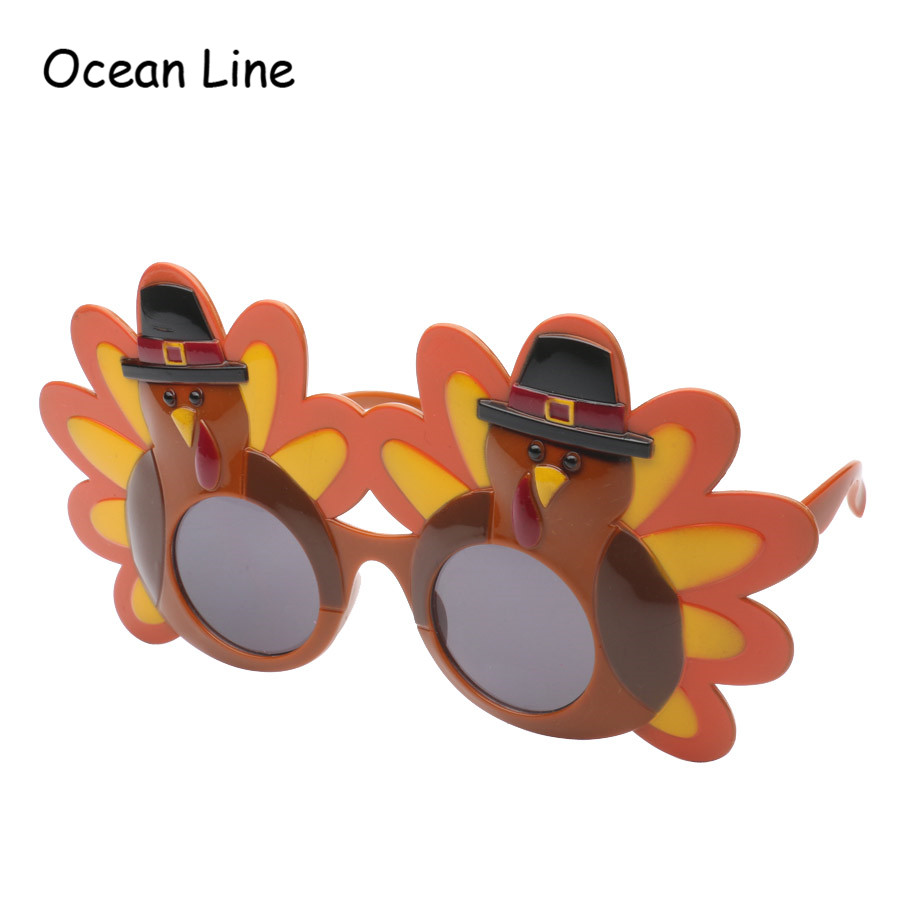 8d5242339295 Funny Thanksgiving Days Turkey Costume Glasses Photo Booth Props Birthday  Gifts Events Festival Party Supplies Decoration-in Party Favors from Home    Garden ...