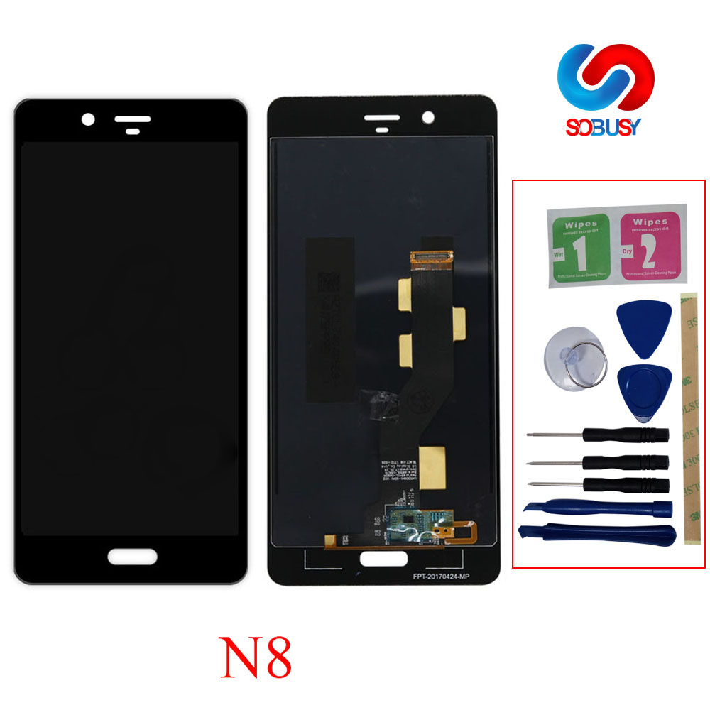 AAA Quality For Nokia 8 N8 Lcd Display N8 LCD Screen with Touch Screen Digitizer Assembly Replacement parts+repair tools+3M TapeAAA Quality For Nokia 8 N8 Lcd Display N8 LCD Screen with Touch Screen Digitizer Assembly Replacement parts+repair tools+3M Tape