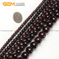 Natural Round Garnet Stone Beads For Jewelry Making 2-14mm 15inches DIY Jewellery Necklace FreeShipping Wholesale Gem-inside