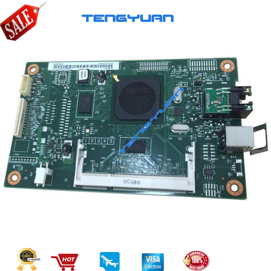 Free shipping 100% test for HP5225 CP5225dn Formatter Board CE490-60001 CE490-67901 printer parts on sale printer power supply board for hp cp5225 cp5525 5525 5225 hp5225 hp5225 mr1 6756 power board panel on sale
